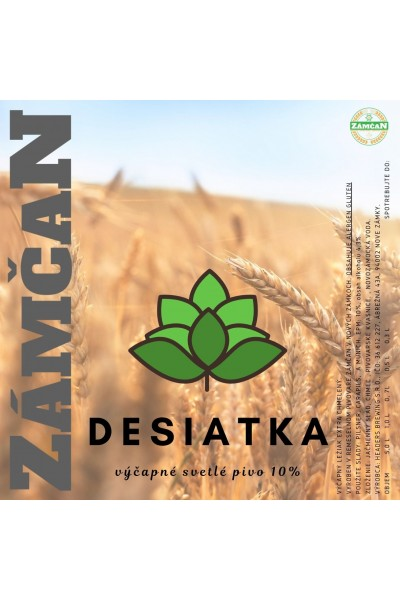 Beer label desiatka 2020