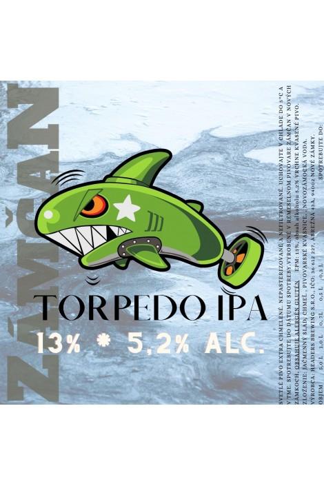 Beer label torpedo 2020
