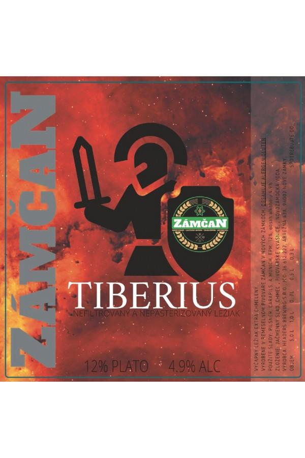Beer label Tiberius 2020